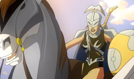 Брунгильда в Халк против Тора