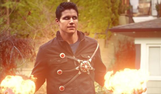 Огненный Шторм в телесериале Флэш