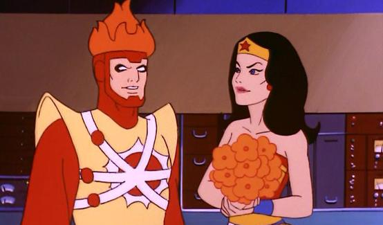 Огненный Шторм в мультсериале Супер друзья
