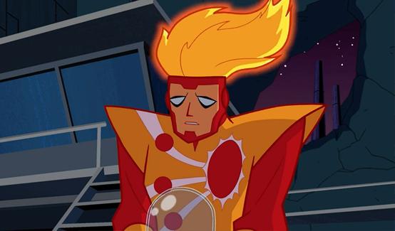 Огненный Шторм в мультсериале Лига справедливости