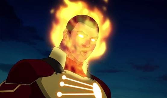 Огненный Шторм в мультсериале Лисица