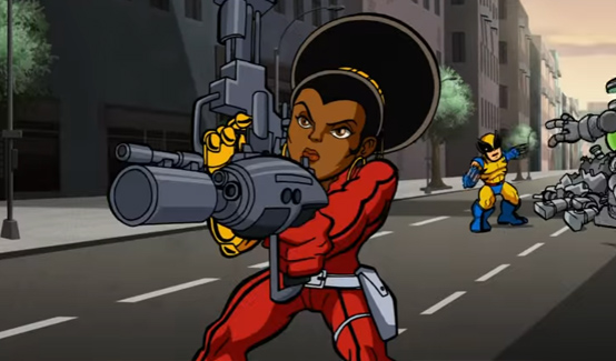 Мисти Найт в мультсериале Отряд Супергероев
