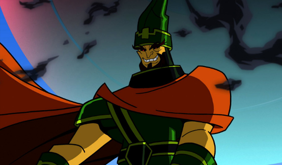 Степпенвулф в мультсериале Бэтмен: отважный и смелый