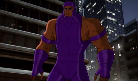 Растущий Человек в мультсериале Мстителей: Революция Альтрона
