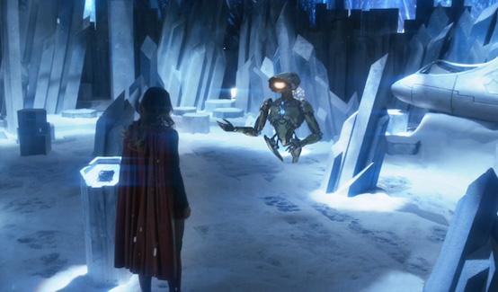 Крепость Одиночества в телесериале Супергёрл