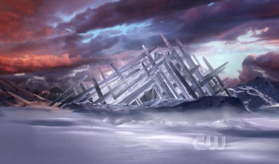 Крепость Одиночества в телесериале Тайны Смолвиля