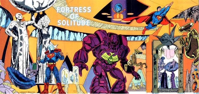 Крепость Одиночества (Fortress of Solitude)