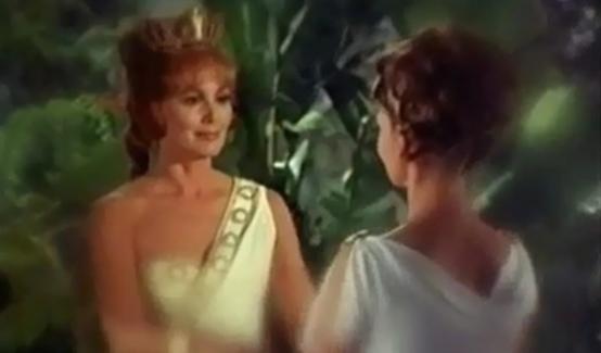 Ипполита в фильме Чудо-женщина (1974 год)