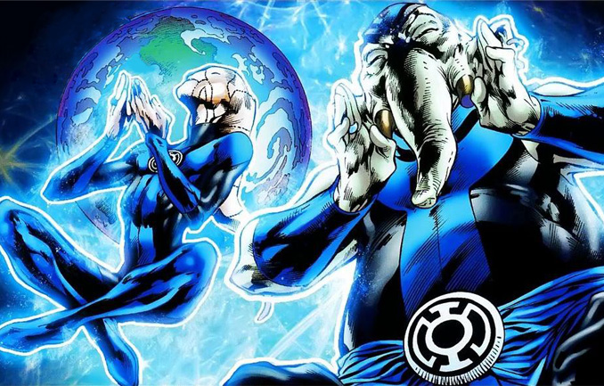 Корпус Синих Фонарей (Blue Lantern Corps)
