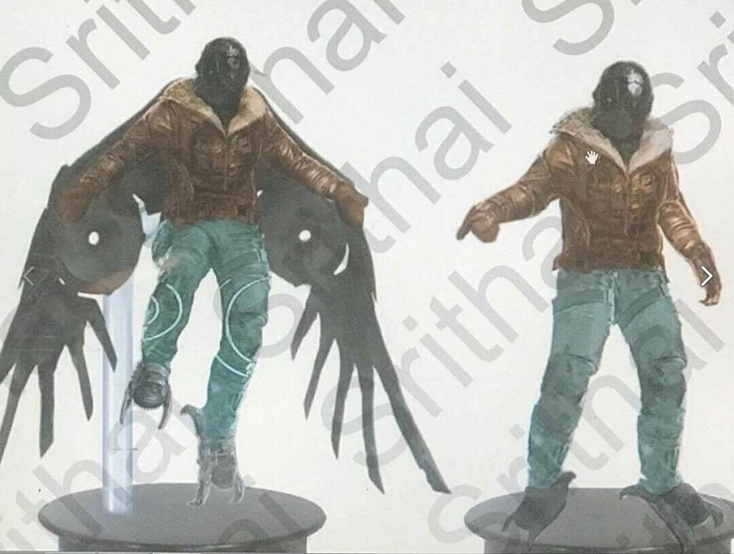 Концепт-арт со Стервятником из фильма Человек-паук - Возвращение Домой