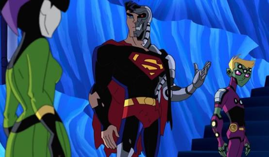 Киборг Супермен в мультсериале Легион Супергероев
