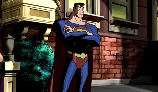 В анимационном фильме Супермен: Судный день