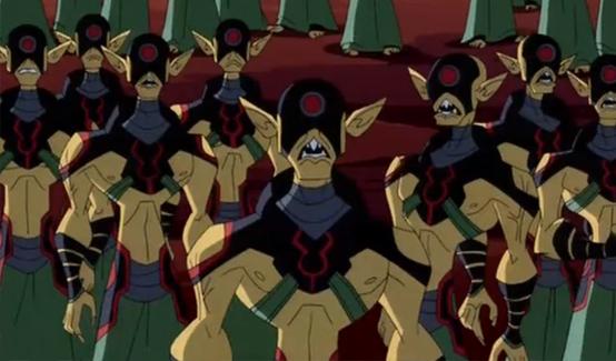Доминаторы в мультсериале Легион Супергероев