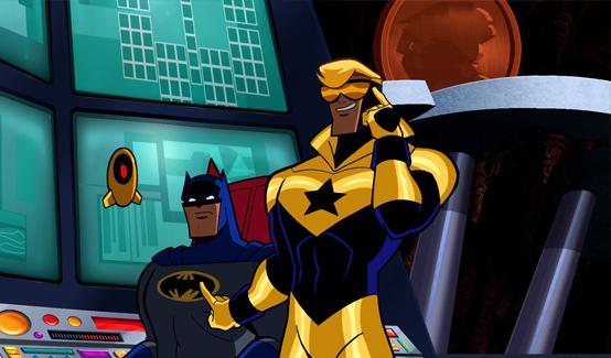 Бустер Голд в мультсериале Бэтмен: Отважный и смелый