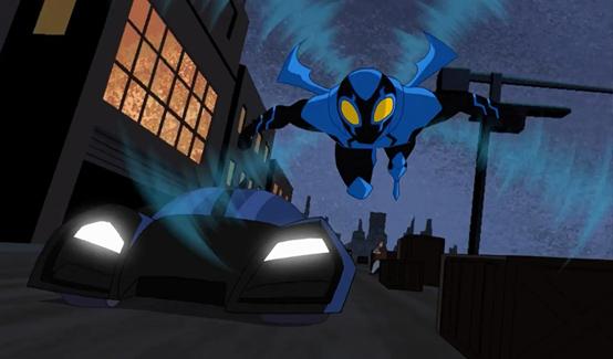 Синий жук (Джейми Рейес) в мультсериале Лига Справедливости