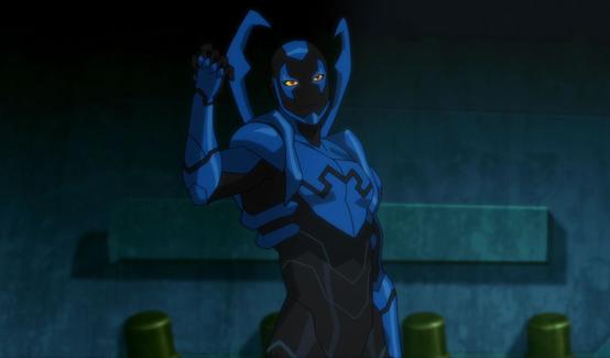 Синий жук (Джейми Рейес) в мультсериале Лига Справедливости против Юных Титанов