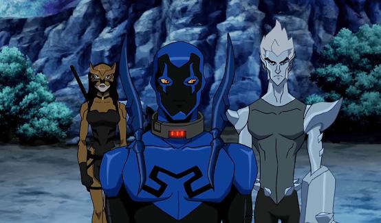 Синий жук (Джейми Рейес) в мультсериале Юная Лига Справедливости