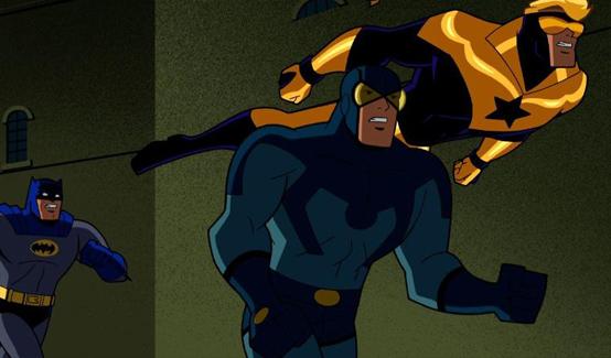 Тед Корд в мультсериале Бэтмен: Отважный и смелый