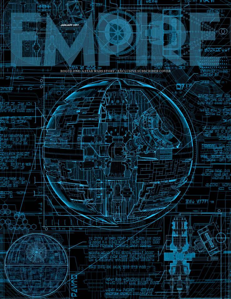 Звезда Смерти на обложке Empire