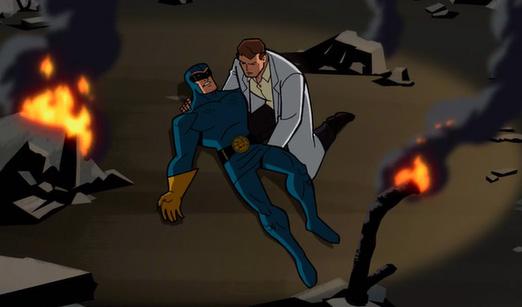 Дэн Гаррет в мультсериале Бэтмен: Отважный и смелый