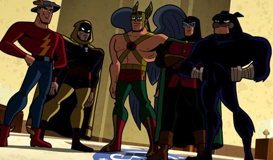 Человек ястреб в мультсериале Бэтмен: Отважный и смелый