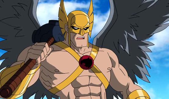 Человек ястреб появляется в Супермен/Бэтмен: Враги общества