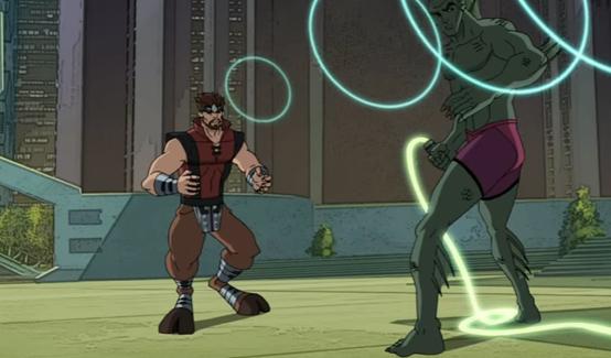 Горгон в мультсериале Совершенный Человек-Паук