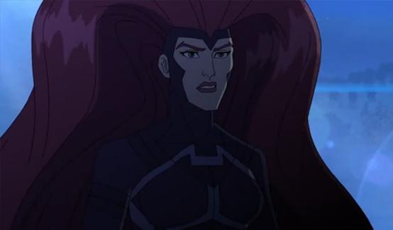 Медуза в мультсериале Команда Мстители