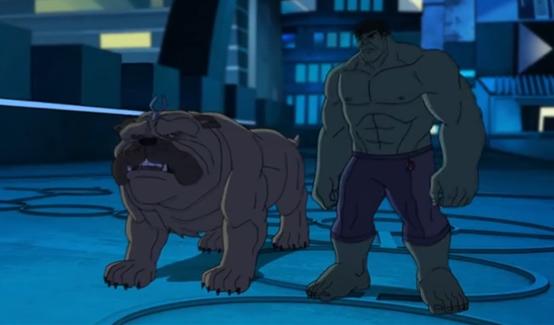Локджо в мультсериале Команда Мстители