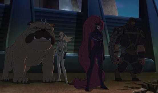 Локджо в мультсериале Стражи Галактики