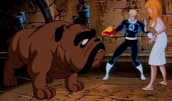Локджо в мультсериале Фантастическая Четвёрка (1994 год)