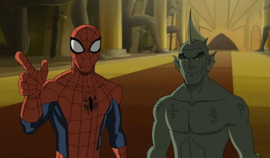Тритон в мультсериале Совершенный Человек-Паук