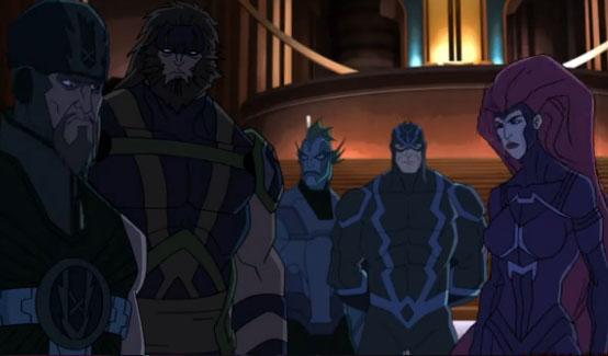 Тритон в мультсериале Команда Мстители