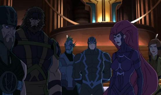 Нелюди в мультсериале Команда Мстители