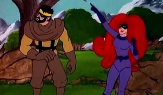Медуза в мультсериале Фантастическая Четвёрка (1978)