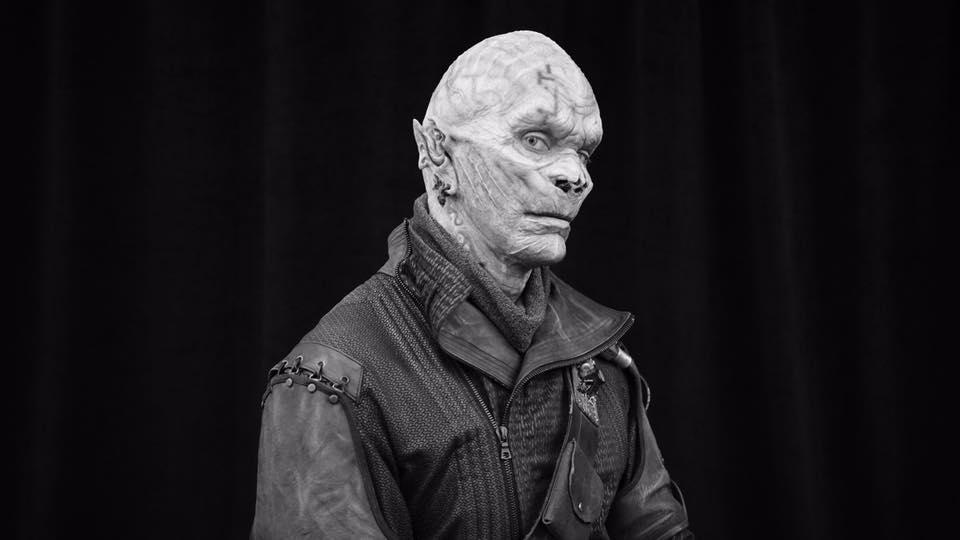Промо-фото пришельца из фильма Стражи Галактики 2