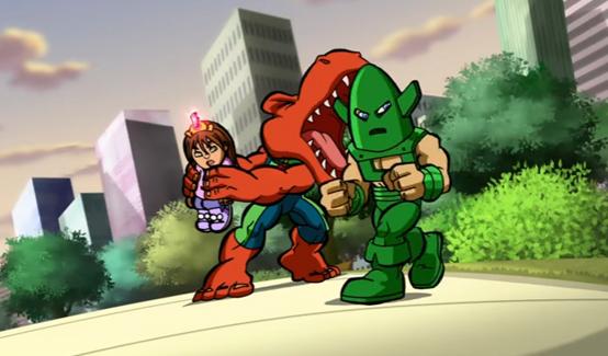 Вихрь в мультсериале Отряд супергероев