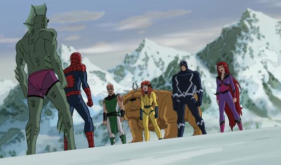 Локджо в мультсериале Совершенный Человек-Паук