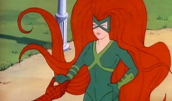 Медуза в мультсериале Человек-паук (1981 год)