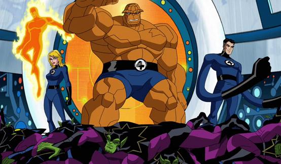 Фантастическая Четвёрка в мультсериале Мстители: Могучие герои Земли