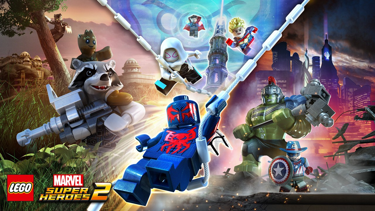 Игра LEGO Marvel Super Heroes 2