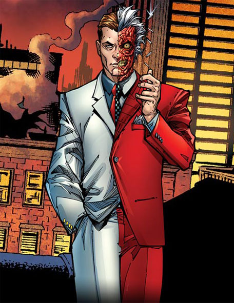 batmans choice with regards to harvey The double-headed coin is two-face's favored possession and the tool that aids his weapon of choice, making decisions after harvey two-face's coin from batman.