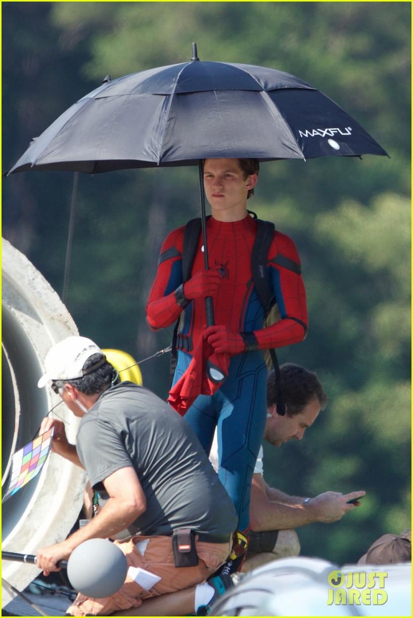 новые фото со съемок человек паук возвращение легенды, которым
