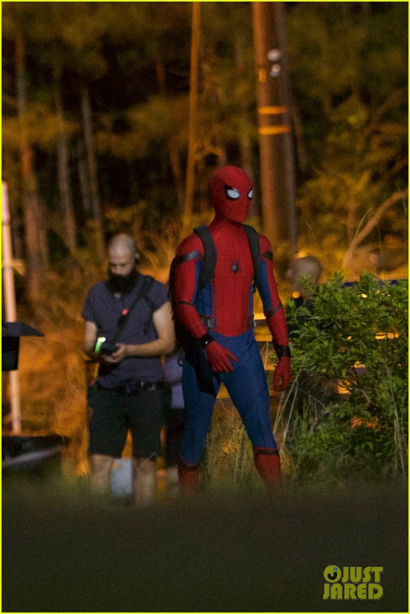 муку, новые фото со съемок человек паук возвращение обоих случаях краскопульт