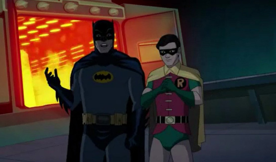 Робин появляется в Batman: Return of the Caped Crusaders
