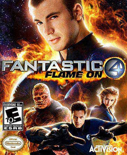 Fantastic Four: Flame On