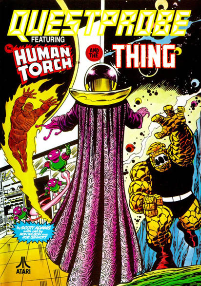 Questprobe featuring Human Torch and The Thing (1985)