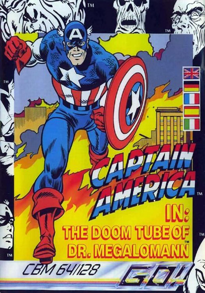 Captain America in: The Doom Tube of Dr. Megalomann (1987)