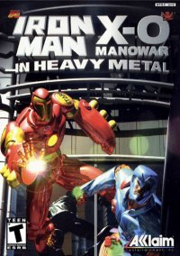 Iron Man and X-O Manowar in Heavy Metal